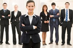 Contemporary businesswoman Royalty Free Stock Photography