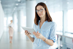 Contemporary businesswoman Stock Photography