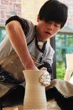 Contemporary Ceramic Art Show Stock Image