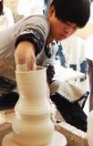 Contemporary Ceramic Art Show Stock Photo