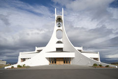 Contemporary church building Stock Image
