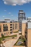 Contemporary city apartments Stock Photo