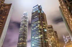 Contemporary City Skyscraper Royalty Free Stock Images