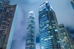 Contemporary City Skyscraper Stock Photography