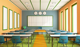 Contemporary classroom Royalty Free Stock Images