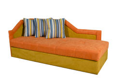 A colorful sofa Royalty Free Stock Photography