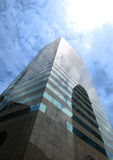 Contemporary commercial buildings in Hong Kong. At daytime stock images