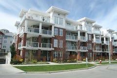 Contemporary Condominium Building stock image
