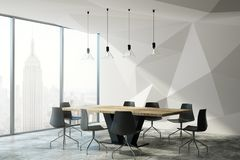 Contemporary conference room Royalty Free Stock Images