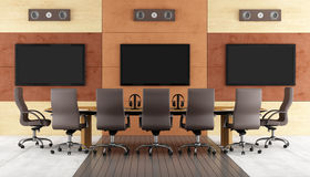 Contemporary conference room Stock Image