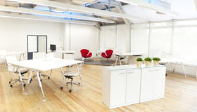 Contemporary Conference Room in Modern Office Stock Image