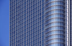 Contemporary Corporate Building Windows Stock Images
