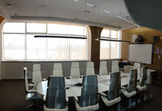 Contemporary corporate meeting room Royalty Free Stock Photography