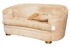 Contemporary couch Royalty Free Stock Photo