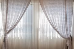 Contemporary, Cozy, Curtain Royalty Free Stock Photography