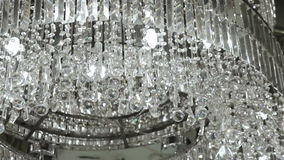 Contemporary Crystal Chandelier. Royalty Free Stock Photos