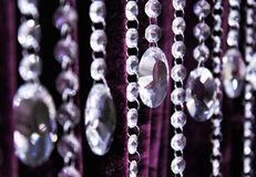 Contemporary Crystal Decoration Royalty Free Stock Images
