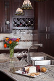 Contemporary Custom Kitchen Royalty Free Stock Image
