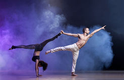Contemporary Dance Stock Image