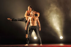 Contemporary Dance Theatre at the scene Stock Photos