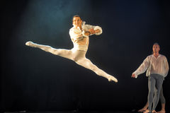Contemporary Dance Theatre at the scene Stock Photography