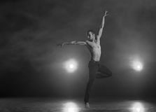 Contemporary Dance Royalty Free Stock Photography