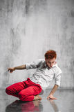 Contemporary dancer Stock Photography