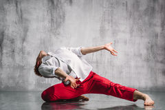 Contemporary dancer Stock Photos