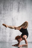 Contemporary dancer Stock Photo