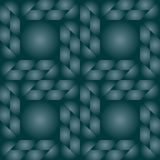 Contemporary decorative seamless pattern with different geometrical shapes of dark state grey gradient Stock Photo