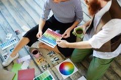 Contemporary Designer team Royalty Free Stock Photos