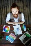 Contemporary Digital Designer Stock Photography