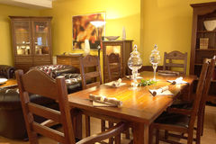 Contemporary dining area Royalty Free Stock Images