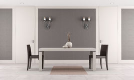 Contemporary dining room Royalty Free Stock Photography