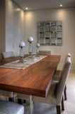 Contemporary dining table Stock Image