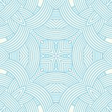 Contemporary doily round lace floral pattern Royalty Free Stock Images
