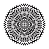 Contemporary doily round lace floral pattern Royalty Free Stock Photography