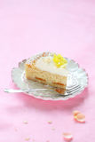 Contemporary Easter Coconut Tart Stock Images