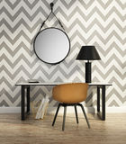 Contemporary Elegant Home Office Royalty Free Stock Images