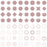 Contemporary elements. Lots of illustrations of contemporary shapes Stock Image