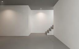 Contemporary empty gallery space. Minimal, contemporary empty gallery space stock photo