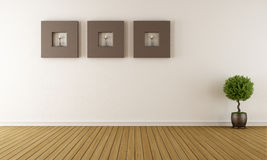 Contemporary empty room Royalty Free Stock Photography