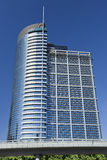 Contemporary 0ffice building in Beijing, China. Royalty Free Stock Photos