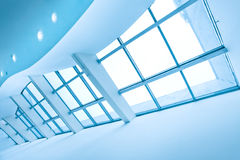 Contemporary glass roof Royalty Free Stock Photo