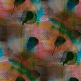Contemporary green, carrot, black avant-garde Stock Photo