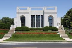 Contemporary Home In Suburbs Stock Photo