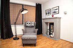 Contemporary home royalty free stock photos