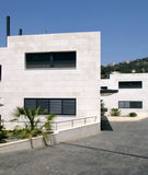 Contemporary house. Exterior in spain Stock Photos