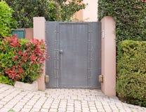 Contemporary house entrance, Athens northern suburbs Stock Photos