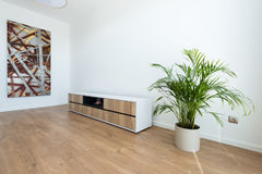 Contemporary house interior Royalty Free Stock Photo
